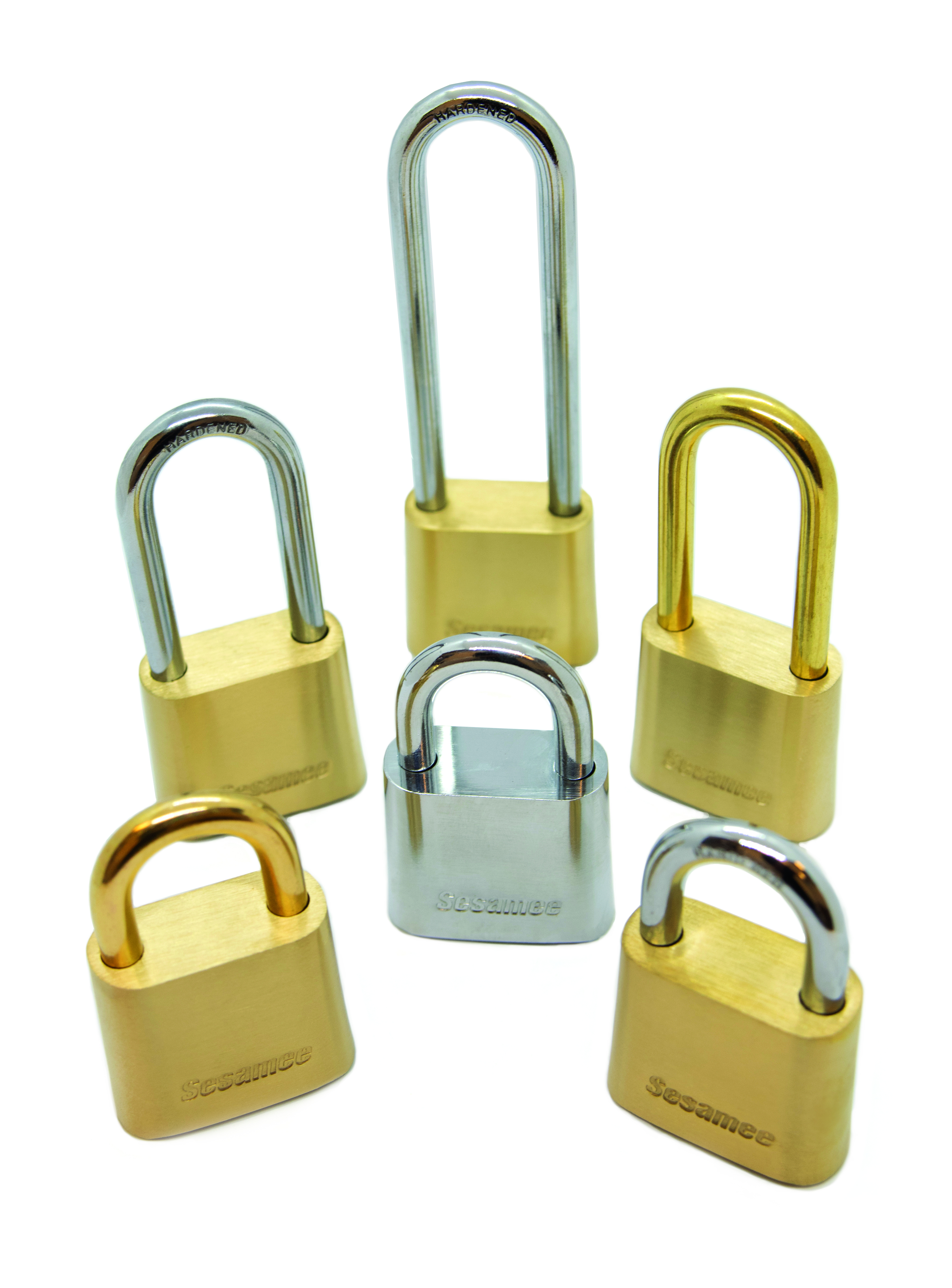 Sesamee 436/437 Series All Brass Dial Padlock 436
