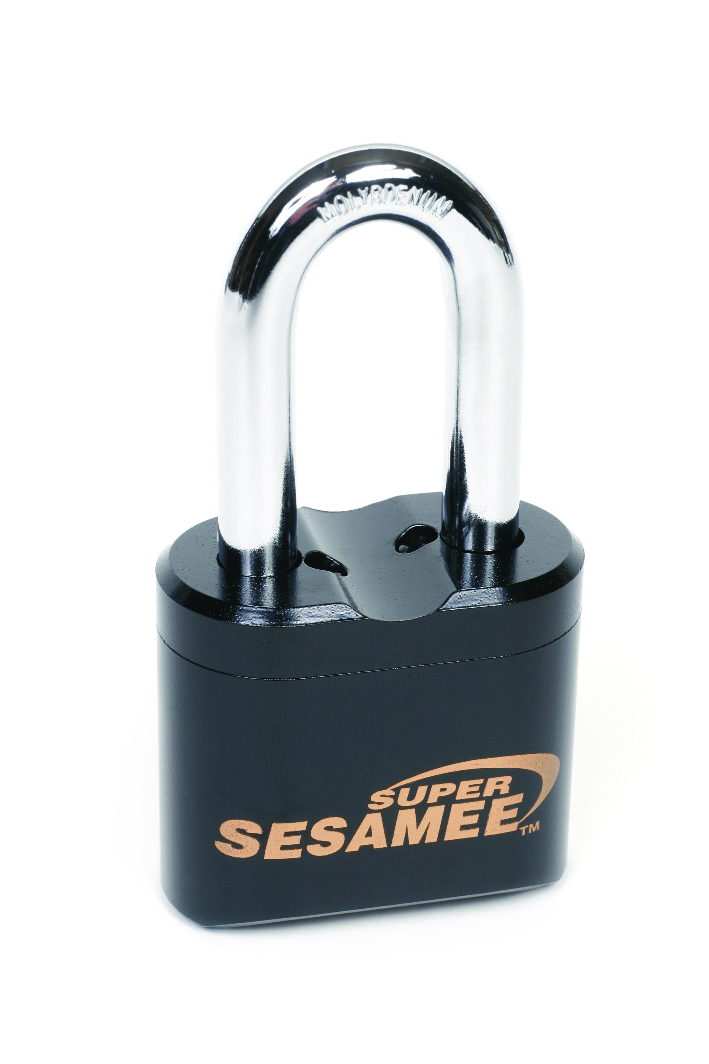 Super Sesamee Heavy-Duty 4-Dial Padlock K637