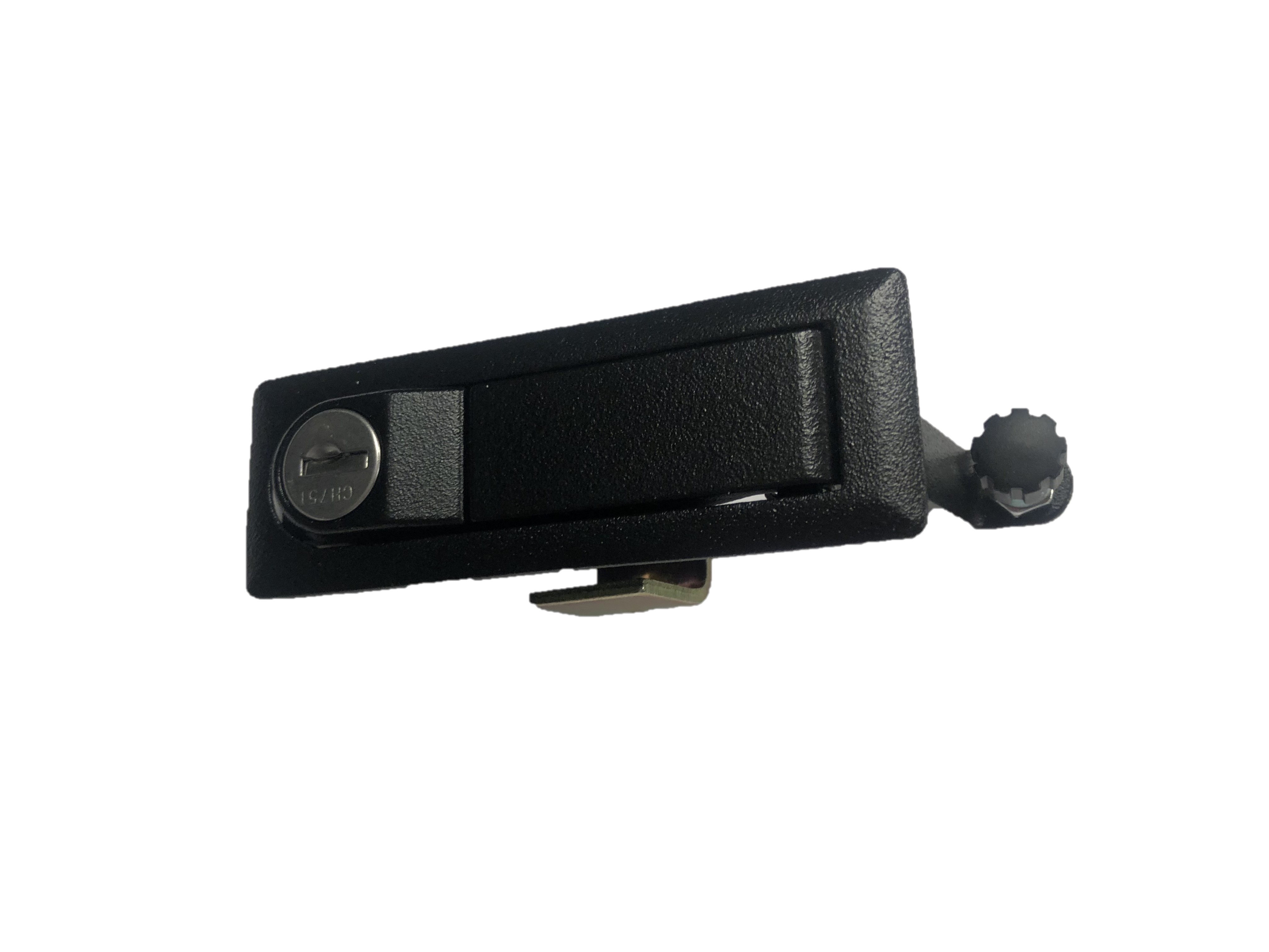 Key locking adjustable compression trigger latch 4-636S-751K-42