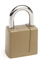 66 Series Hardened Steel Keyed Padlock with Chrome Plated Shackle 94