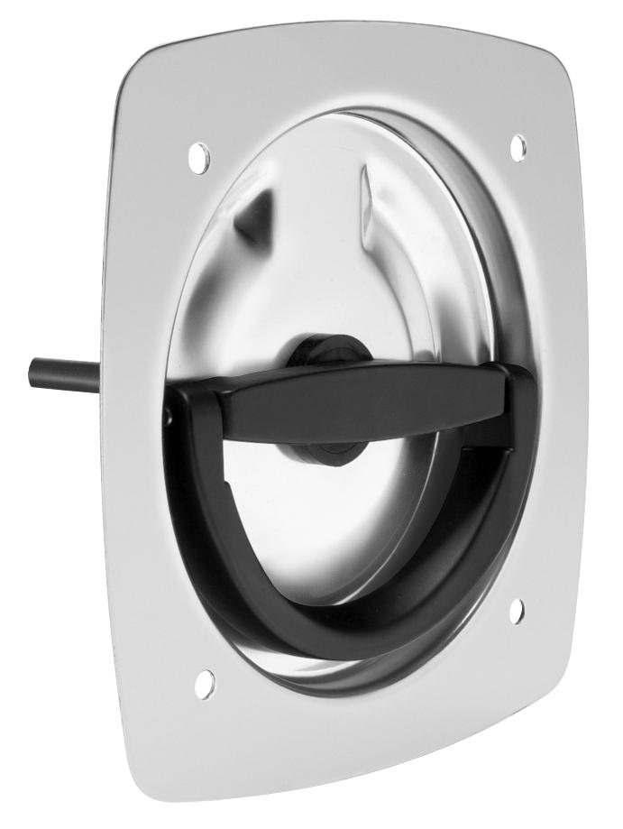 Non-Locking Recessed D-Handle 9001-SS-32