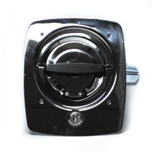 Key-Locking Recessed D-Handle 9030-SSR-32