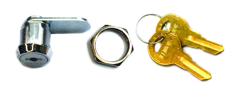 63300 Series High Security, Drill Resistant Cam Lock 63300